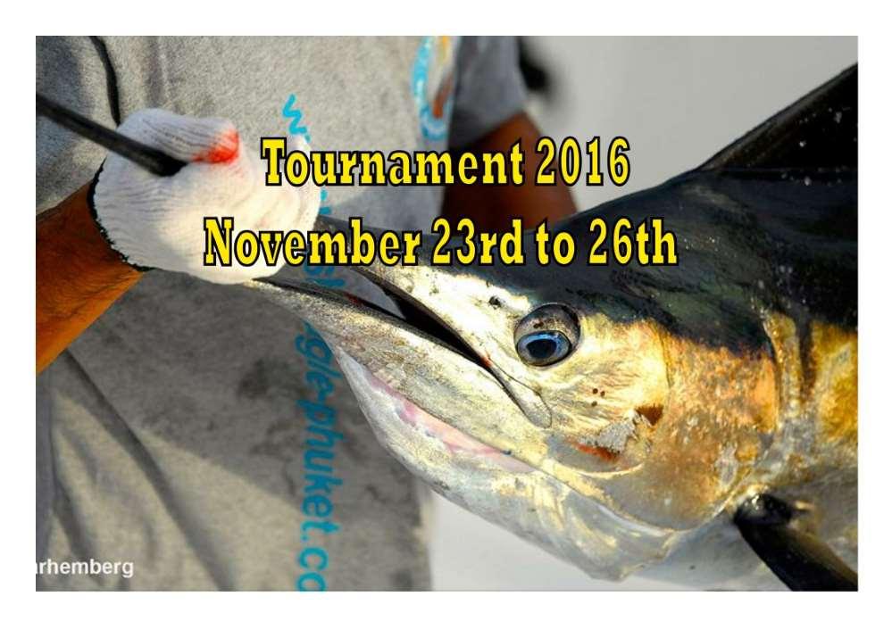 Рыболовный турнир на Пхукете
