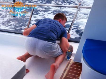 Как избежать морской болезни во время дайвинга на Пхукете?