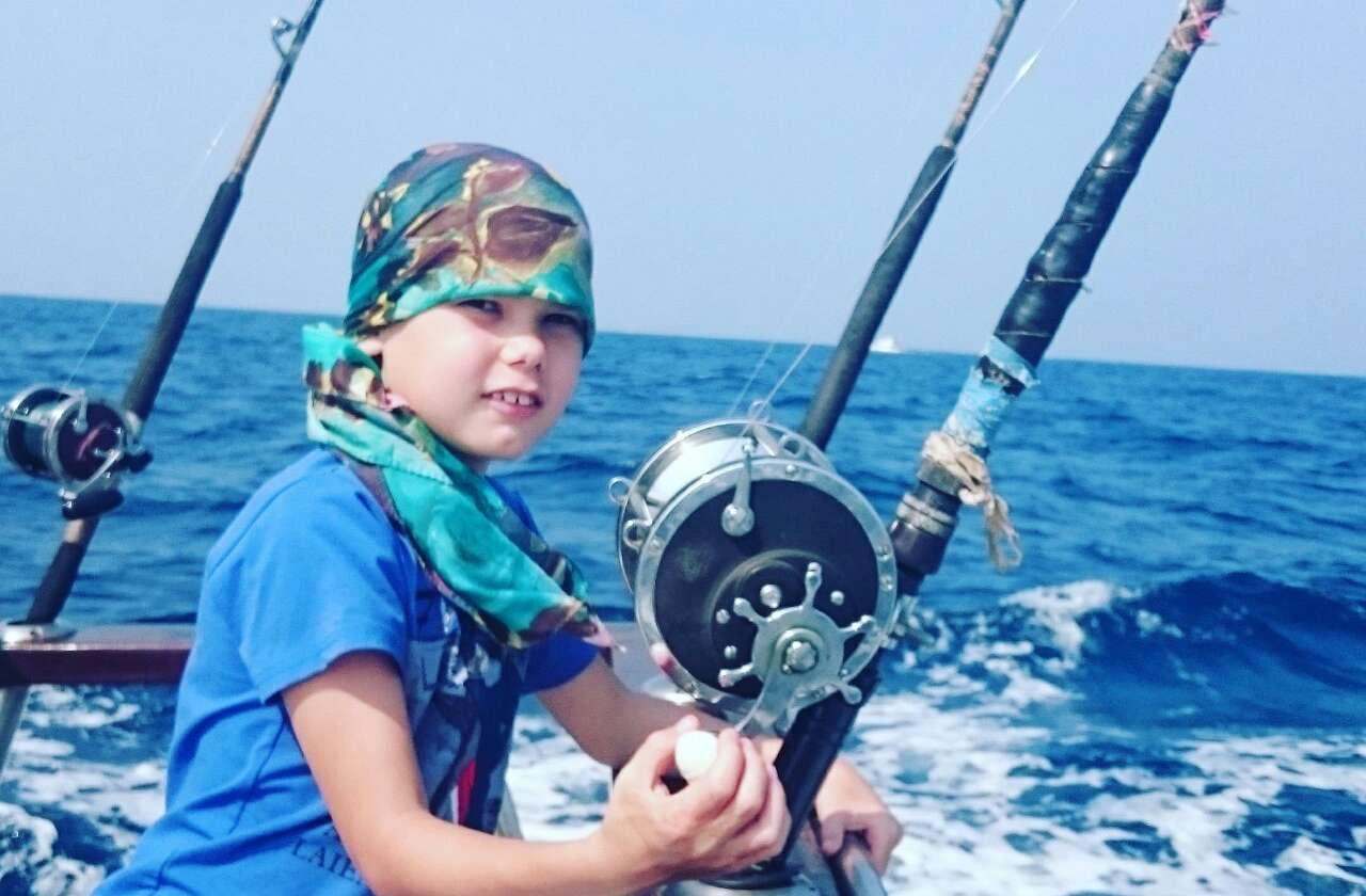 Удочка для морской рыбалки