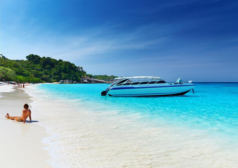 Аренда катера на Пхукете